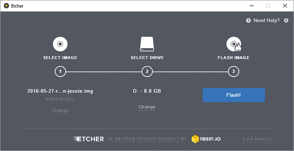Etcher - Consigue un usb booteable para tu pc mac OS