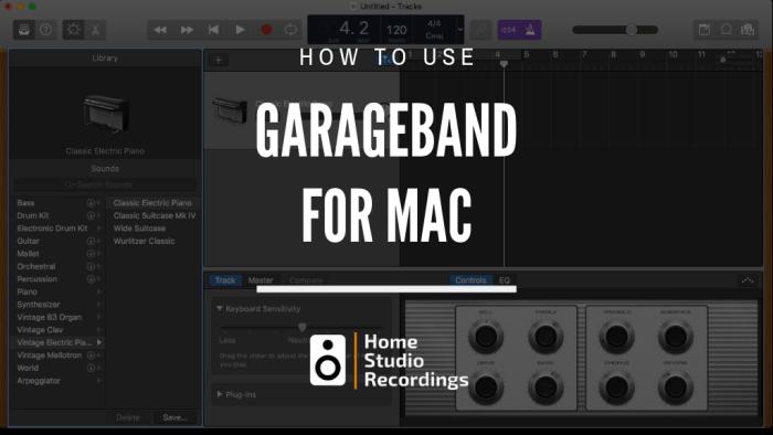 Descargar DMG Garaje Band para Mac OS Gratis