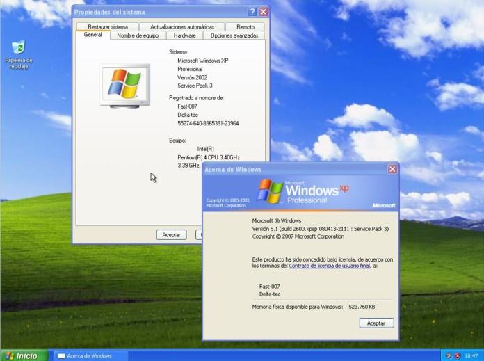 Descargar ISO para Instalar Windows XP en español