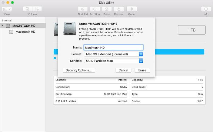 Como instalar mac os desde archivo de imagen dmg