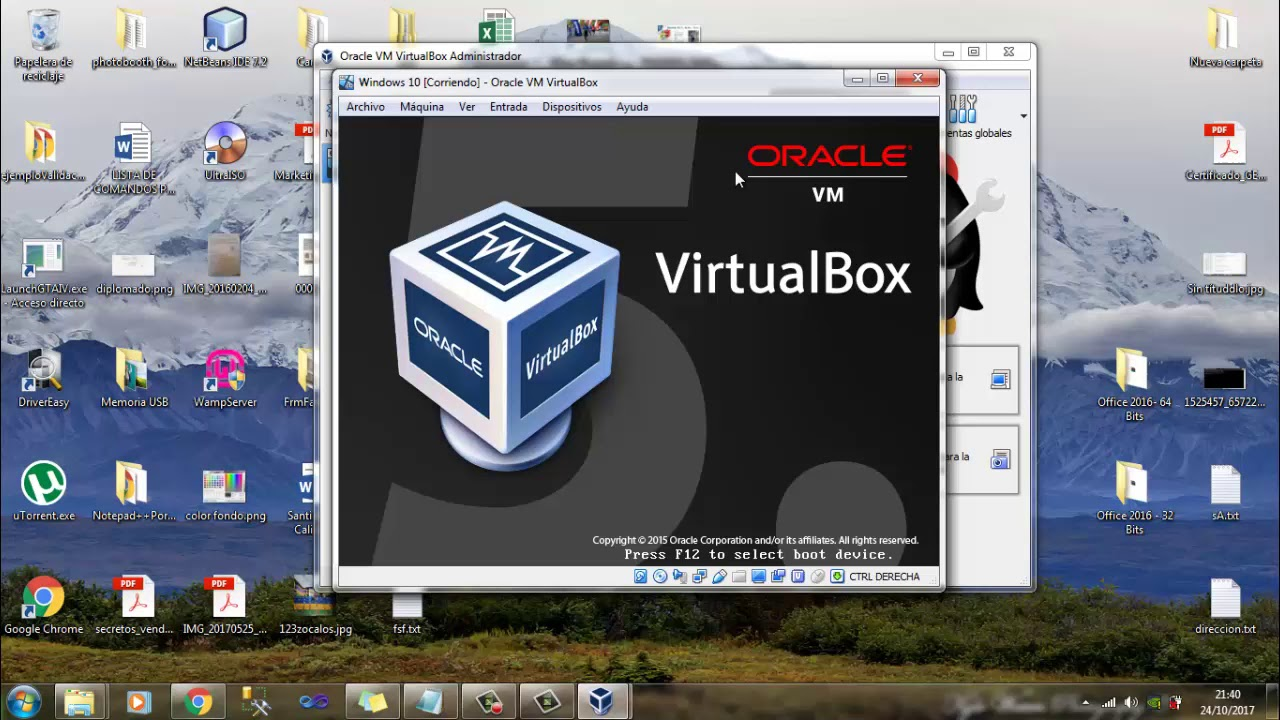 Descargar ISO VirtualBox para instalación completa